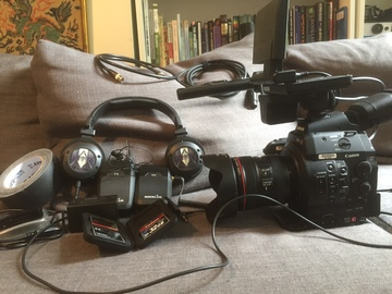 Rent: Canon EOS C300 Cinema Camera FILMMAKERS BUNDLE