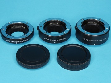Rent: MT-FT47 3-Piece Macro Extension Tubes for Micro Four Thirds