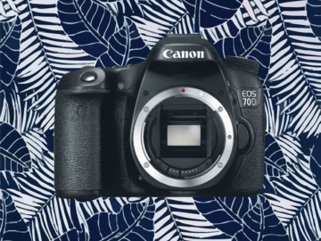 Rent: Canon EOS 70D and lenses