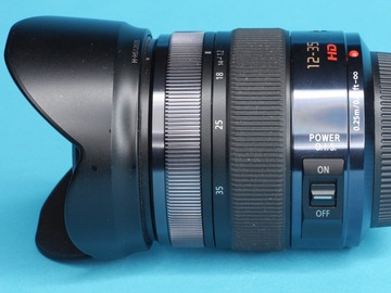 Rent: Panasonic Lumix G X Vario 12-35mm f/2.8 POWER OIS Lens (A)
