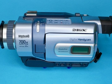 Rent: Sony DCR-TRV350 Digital8 Camcorder with Infrared Nightshot
