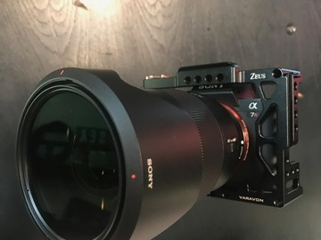 Sony a7R II + Sony 24-70mm GM Lens + Cage/Case/Grip/ +More