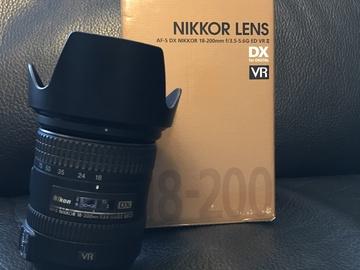 Rent: Nikon AF-S DX Nikkor 18-200mm f/3.5-5.6G IF-ED VRII