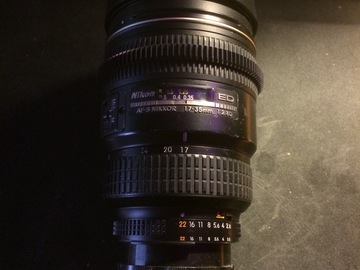 Rent: Duclos Modified Nikkor 17-35mm Zoom, Manual Control