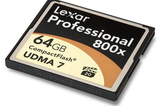 64GB 800x UDMA 7 CF Card