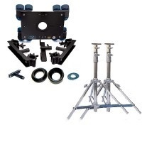 Dana Dolly Package w/ Stands (4', 5', or 6' Speed Rail)