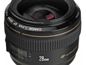 Rent: Canon EF 28mm f/1.8 USM mint