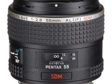 Rent: Pentax-D FA 645 55mm F2.8