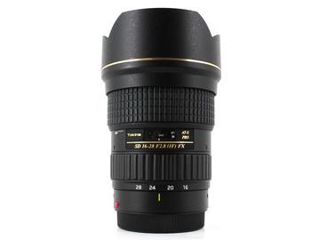 Rent: Tokina 16-28mm f/2.8 AT-X Pro FX AF, Canon EF Fit
