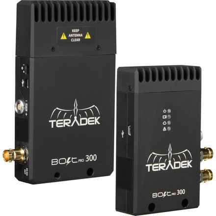 Teradek Bolt Wireless SDI 3G Feed with a/c + ptap