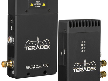 Rent: Teradek Bolt Wireless SDI 3G Feed with a/c + ptap