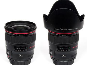 Rent: Canon EF 24mm f/1.4 L II USM