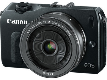 Rent: Canon EOS M Mirrorless Camera w/ 22mm and 18-55mm Kit
