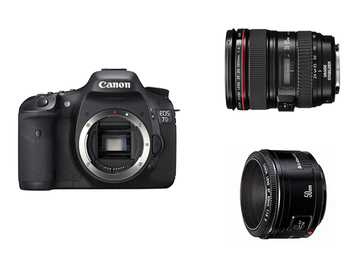 Rent: Canon EOS 7D Digital SLR Package w/ Lenses