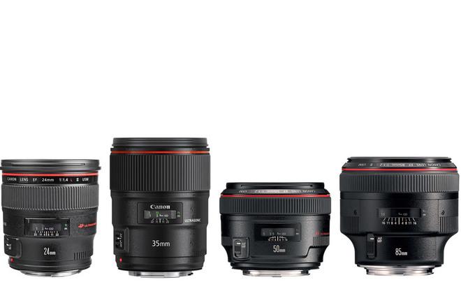 Canon L Series Prime Lens Kit