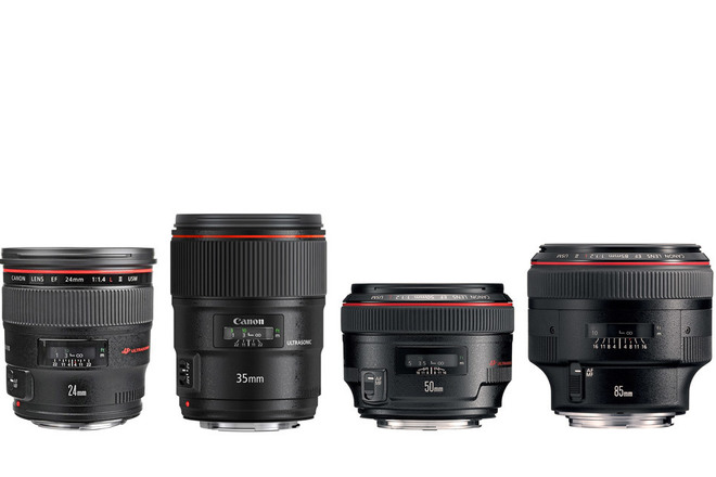 Canon L Series Prime Lens Kit