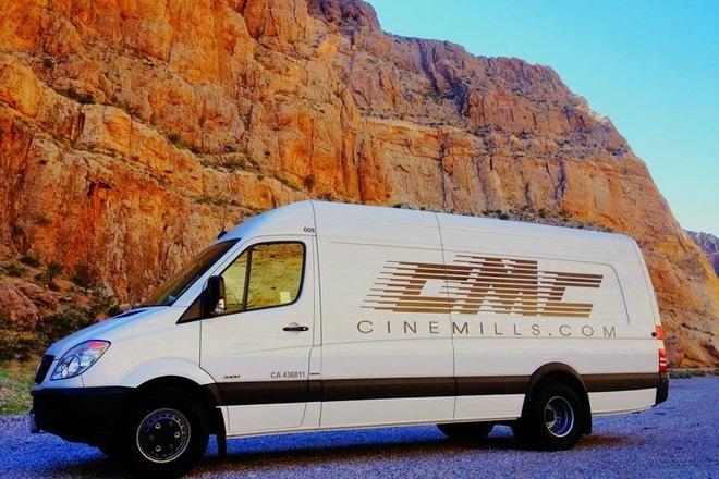 Cinemills Sprinter Van 1 Ton LED Lighting and Grip Truck
