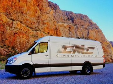 Rent: Cinemills Sprinter Van 1 Ton LED Lighting and Grip Truck