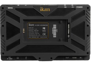 "Rent: Ikan DH7 7"" Full HD HDMI Monitor with 4K Signal Support"