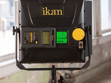 Rent: Ikan iKan Lyra 1x1 Bi-color Studio Light