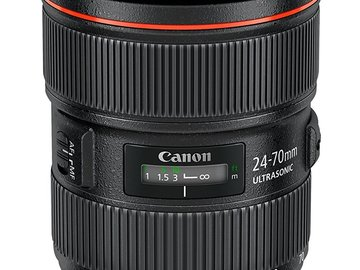 Rent: Canon EF 24-70mm L Series f/2.8 II