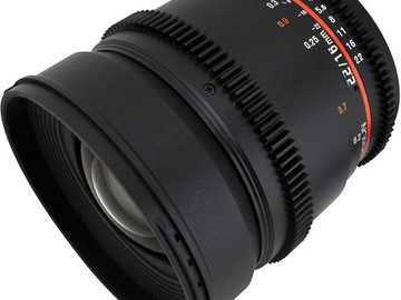 Rent: Rokinon Cine 16mm T2.2