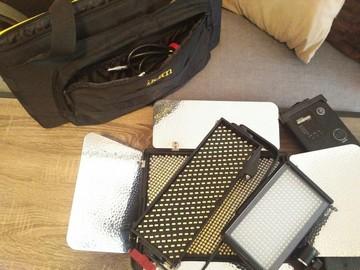 Rent: 5 Light LED Light Kit - Aputure and Ikan