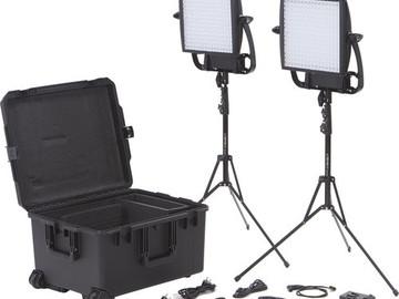 Litepanels Astra 1x1 Bi-Color - 2 Light V-Mount Kit