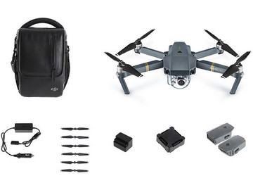 Rent: DJI Mavic Pro Fly More Combo