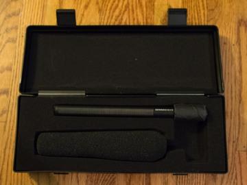 Rent: Sennheiser MKH 416 Short Shotgun  Microphone