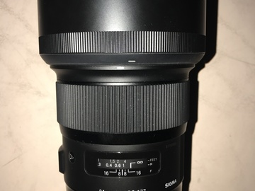 Rent:  Sigma Lenses