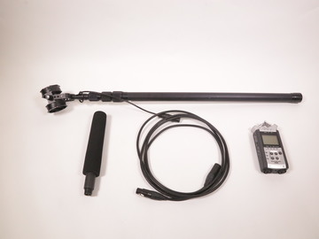 Rent: Audio Technica AT4073a boom package