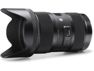 Rent: Sigma Art Series 18-35 F1.8 Zoom Lens Nikon / Canon Mount