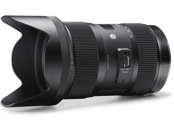 Rent: Sigma Art Series 18-35 F1.8 Zoom Lens Nikon / Canon Mount