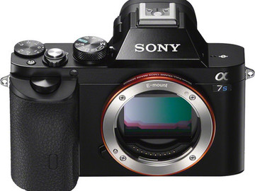 Rent: Sony Alpha a7S Mirrorless Digital Camera