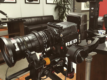 Ronin w/ Pan & Arm Extensions, Cinemilled Pro Plate, & More