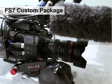 Rent: Sony FS7 with Mic **Custom Package**