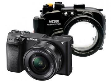 Rent: Sony a6300 w/ Underwater Housing & 16-50mm