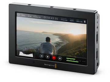 Rent: Blackmagic Video Assist 4K 7-in Recording Monitor