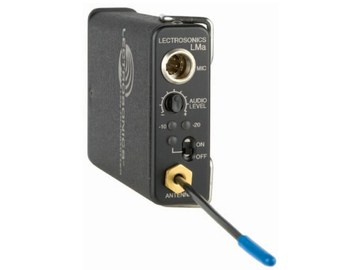 Rent: Lectrosonics LMA Block 19 UHF wireless TX 486.4-511.9mhz