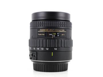 Rent: Tokina 10-17mm f/3.5-4.5 AT-X DX AF Fisheye, Canon EF-S Fit