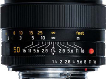 50mm Summilux Leica R Mount 1.4 with Canon EF adaptor