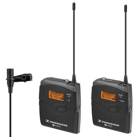 Sennheiser EW100 G3  Wireless Lav Microphone lavalier set 1
