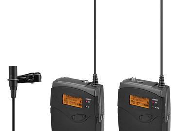 Rent: Sennheiser  Wireless Lav lavalier Microphone set EW 100 G3