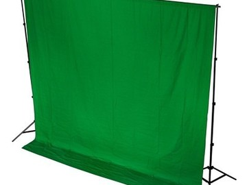 Rent: 12'x12' Greenscreen package