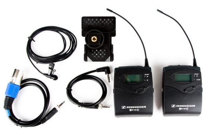 Sennheiser EK100 / SK100 G3 Wireless Lavalier Mic Kit (A)