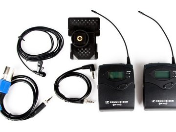 Rent: Sennheiser EK100 / SK100 G3 Wireless Lavalier Mic Kit (B)