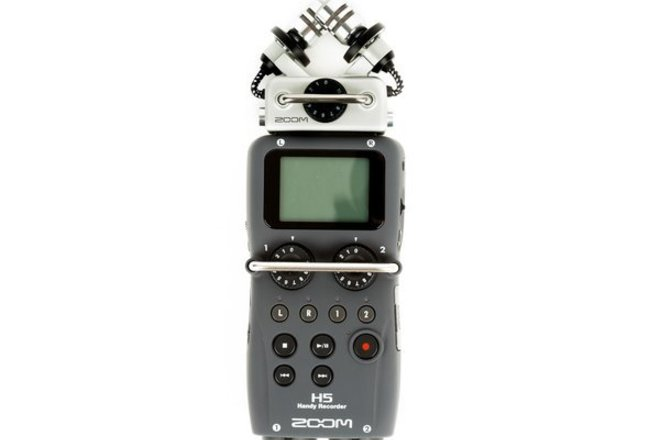 Zoom H5 Handy Recorder with Interchangeable Mic System Kit