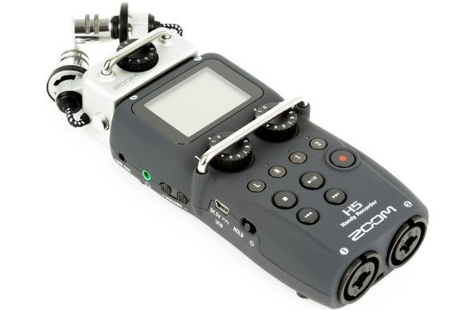 Rent a Zoom H5 Handy Recorder with Interchangeable Mic System Kit    ShareGrid Chicago