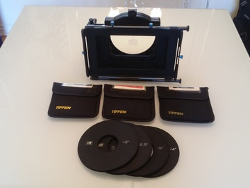 Rent: Matte Box + ND and 1/4 Black ProMist Filters